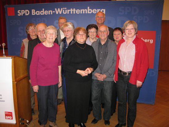 Die Reutlinger AG60-Delegation