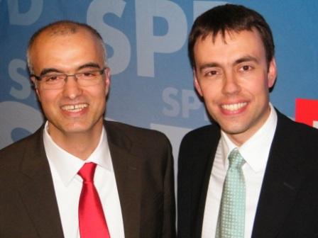 Ramazan Selcuk und Nils Schmid